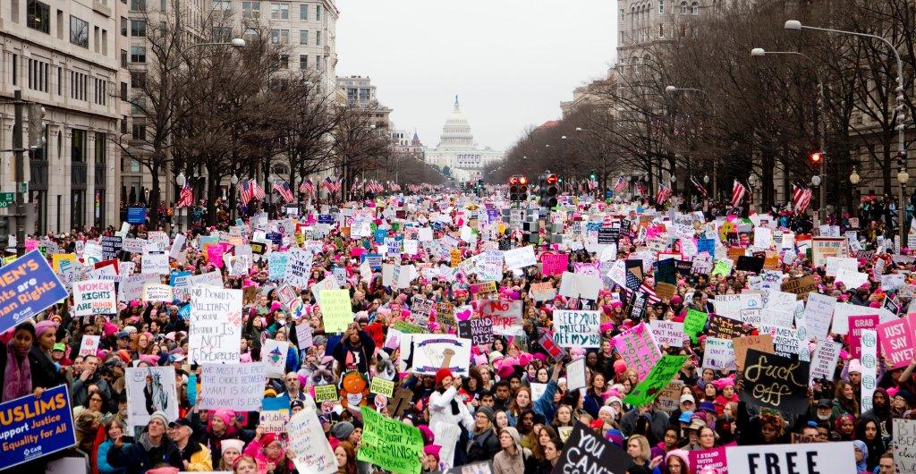 Manifestación mujeres Washington